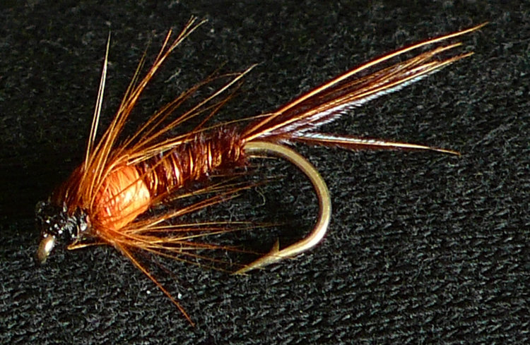 Pheasant Tail - a must have fly for South West rivers